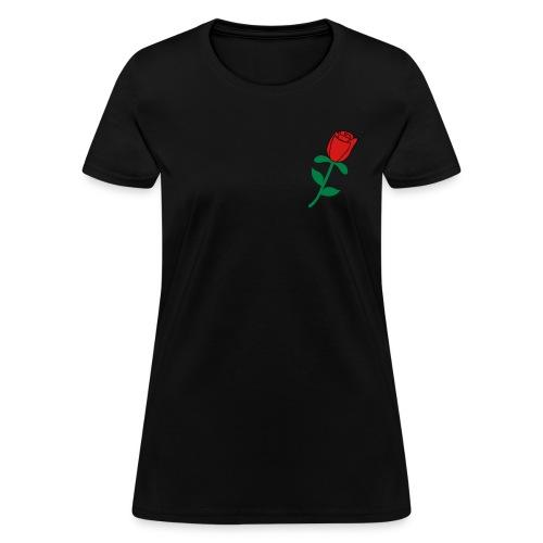 Rose women's tee - Women's T-Shirt