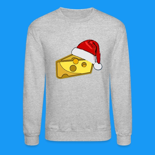 Cheesy Claus - Crewneck Sweatshirt