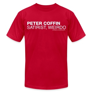 Satirist/Weirdo (Mas) - Men's T-Shirt by American Apparel