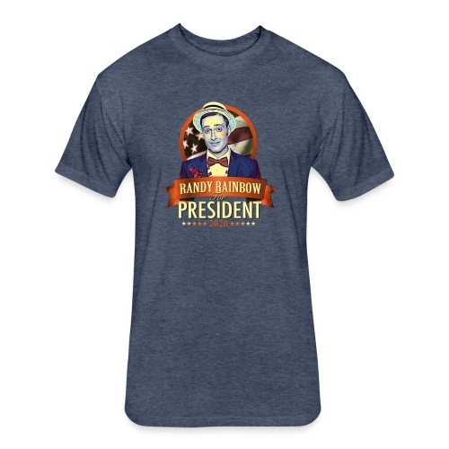 RR4PREZ2020 - Fitted Cotton/Poly T-Shirt by Next Level