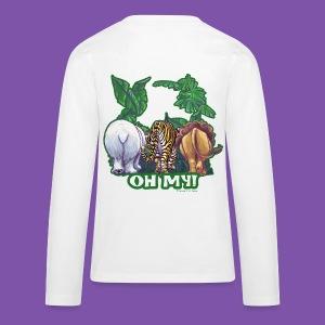 Animal Parade Lion Tiger and Bear Oh My - Kids' Premium Long Sleeve T-Shirt