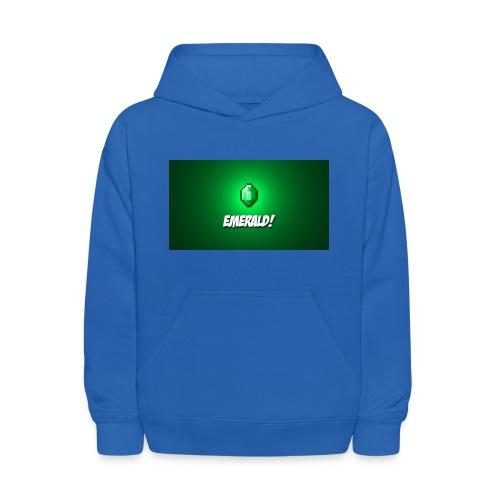blue hoodie - Kids' Hoodie