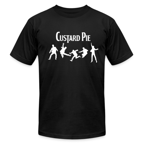 Custard Pie black3X - Men's Fine Jersey T-Shirt