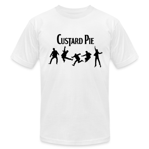 Custard Pie white3X - Men's Fine Jersey T-Shirt