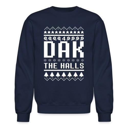 Dak The Halls: Christmas Sweater - Crewneck Sweatshirt