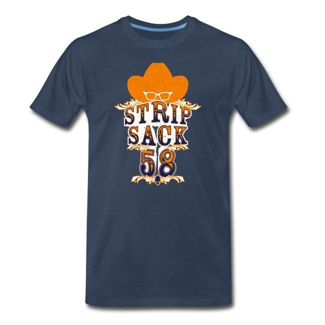 promo code e640e 11754 Von Miller: Strip Sack T-Shirt | Men's Premium T-Shirt
