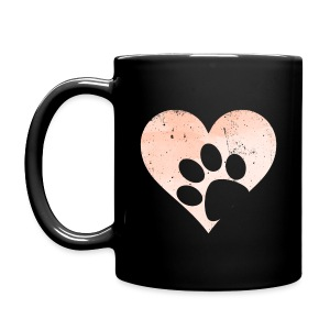 My Heart Mug (feeds 8 shelter animals) - Full Color Mug