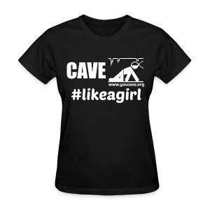 Cave Like A Girl - Women's T-Shirt - Women's T-Shirt