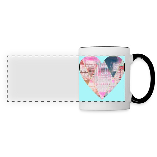 Hearts - Panoramic Mug