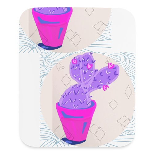 Cacti - Mouse pad Vertical