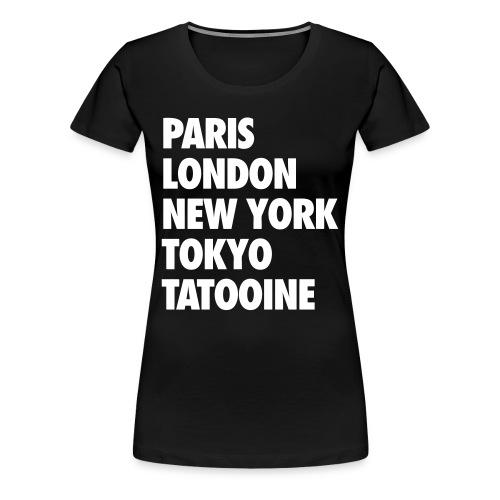 The Traveler by Rebellious Wear - Women's Premium T-Shirt