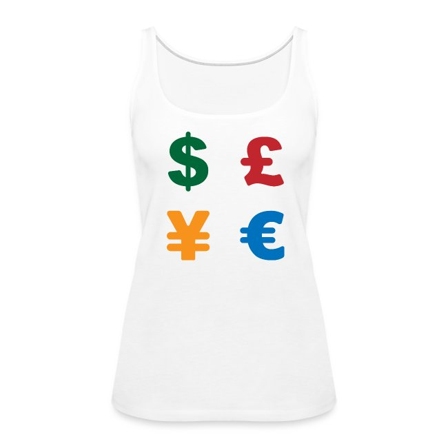 Dimkadnb Dollar Pound Yen Euro Colorful Currency Symbol