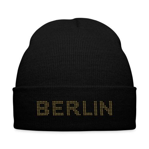 BERLIN dots-font - Knit Cap with Cuff Print
