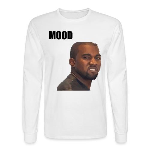 MOOD Kanye West - Men's Long Sleeve T-Shirt
