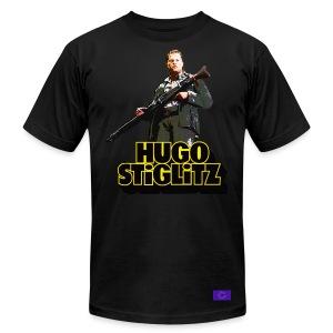 Hugo Stiglitz is a basterd - Men's Fine Jersey T-Shirt