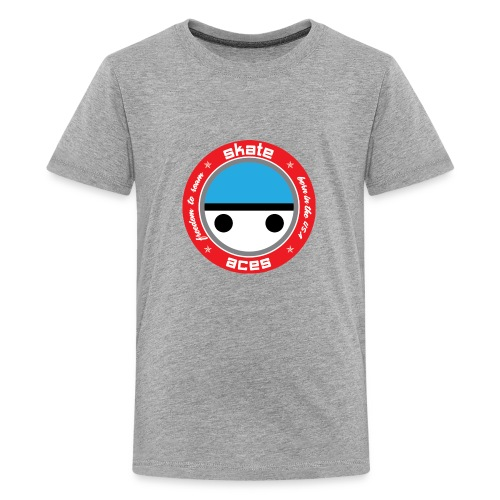 Skate Safe Boy - Kids' Premium T-Shirt