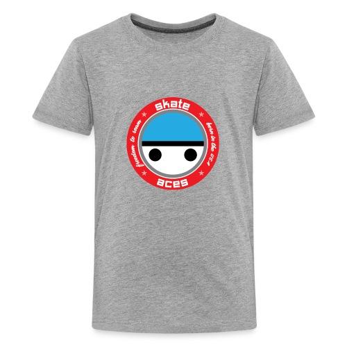 Skate Safe Boy - Kids' Premium T-Shirt