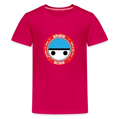 Skate Safe Girl - Kids' Premium T-Shirt