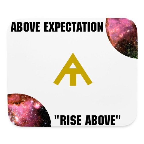 Above Expectation Mouse pad (Gold) - Mouse pad Horizontal