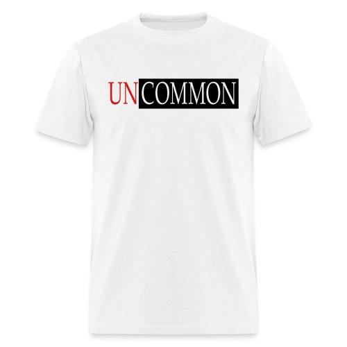 UNCOMMON white tee - Men's T-Shirt