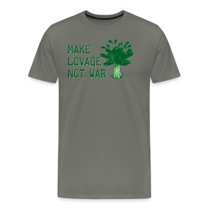 Make Lovage Not War -Premium Tee - Men's Premium T-Shirt