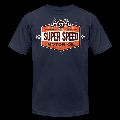 Super_Speed_Oil - Men's Fine Jersey T-Shirt