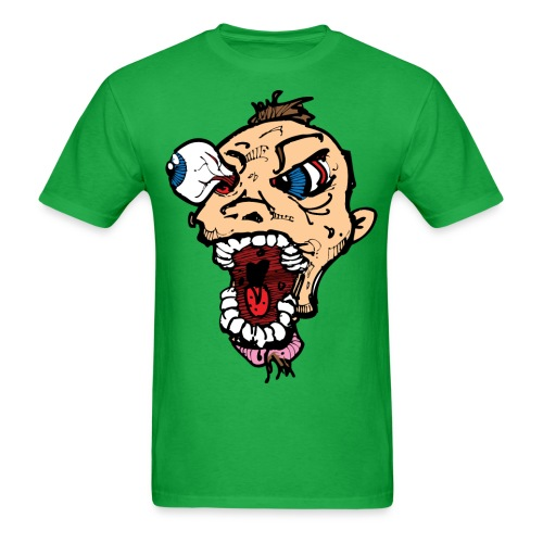 Crazy Bed Badass - Men's T-Shirt
