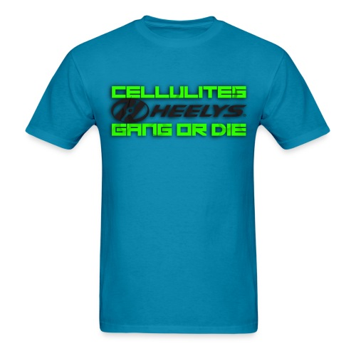 Cellulites Heely Gang - Men's T-Shirt
