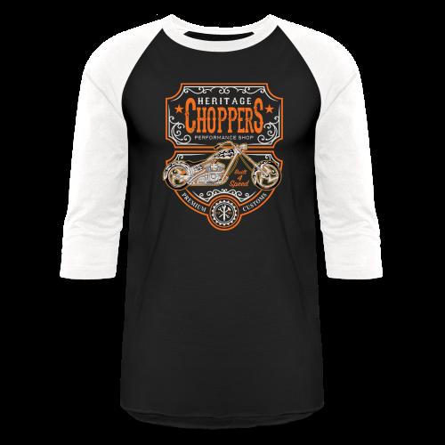 Heritage Choppers - Baseball T-Shirt