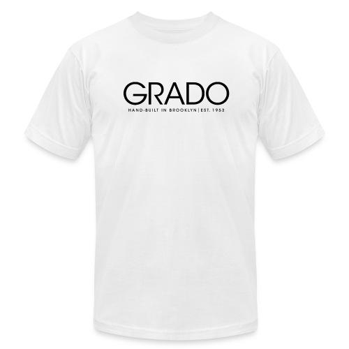 Hand-Built Grado T-Shirt - Black Text - Men's  Jersey T-Shirt