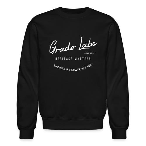 Grado Heritage Crewneck - White - Crewneck Sweatshirt