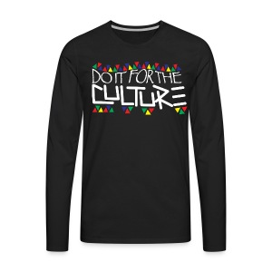Culture Men's Long Sleeve - Men's Premium Long Sleeve T-Shirt