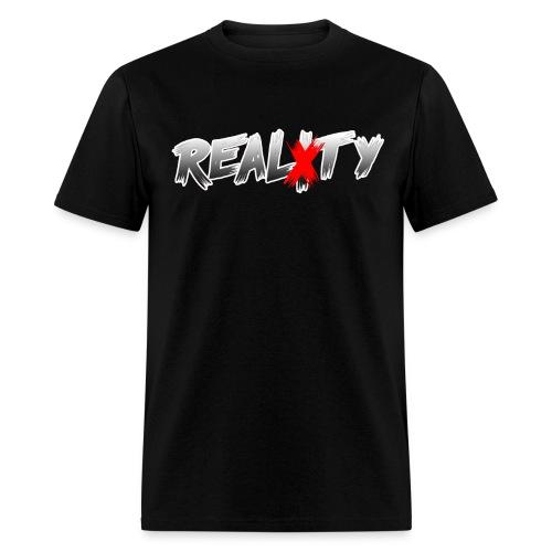REALXTY Logo Men's T-Shirt - Men's T-Shirt
