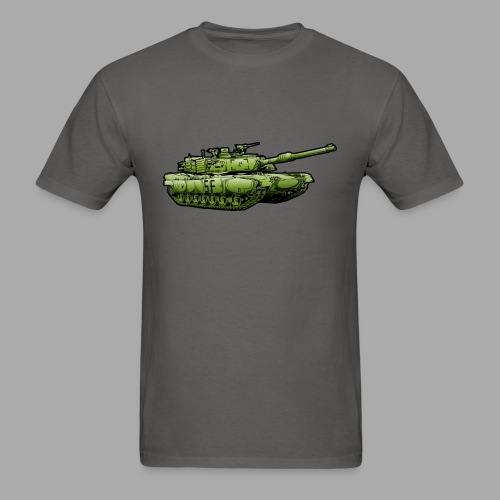 Military Tank - Men's T-Shirt