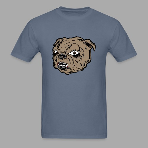 Bulldog Cartoon - Men's T-Shirt