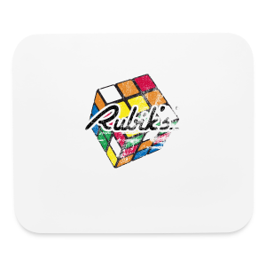 Rubik's Cube Distressed and Faded - Mouse pad Horizontal