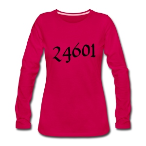 24601 | Women's Long-sleeved T-shirt - Women's Premium Long Sleeve T-Shirt