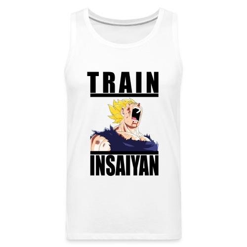 Train Insaiyan - Men's Premium Tank