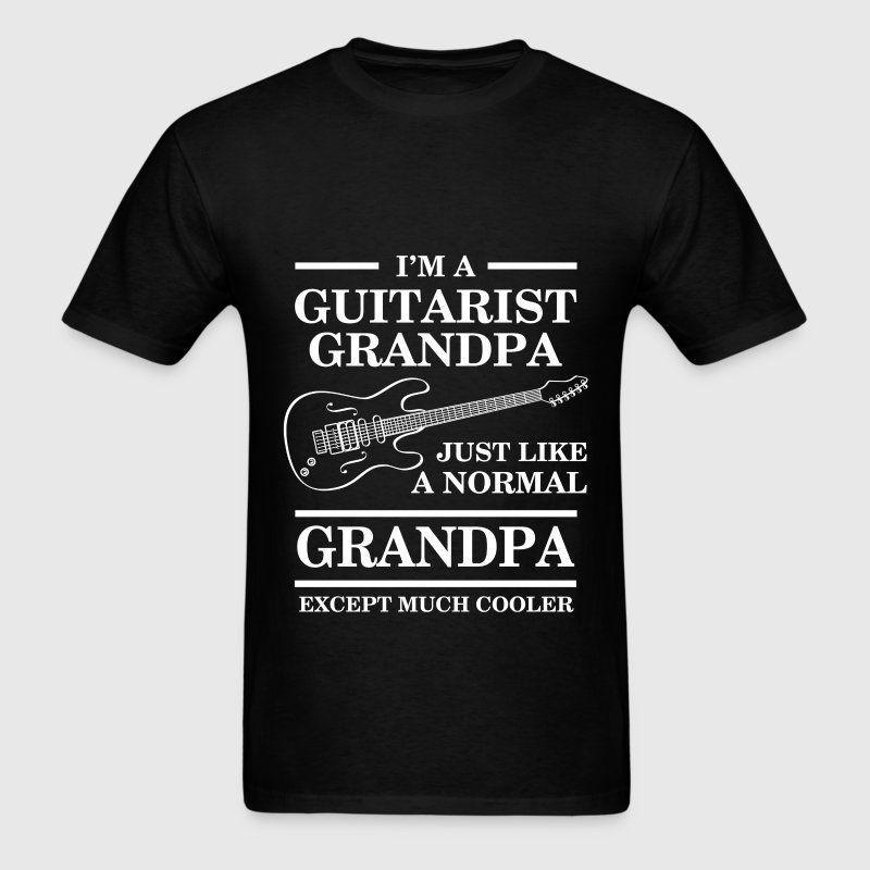 Grandpa - I'm a guitarist grandpa, just like a nor - Men's T-Shirt