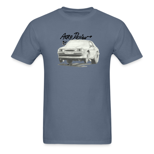 Foxbody Mustang T-Shirt (Front Only) - Men's T-Shirt