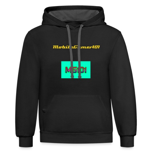 MG101 Ball IS LIFE  - Contrast Hoodie