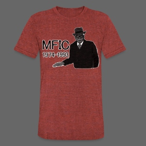 Detroit MFIC - Unisex Tri-Blend T-Shirt by American Apparel