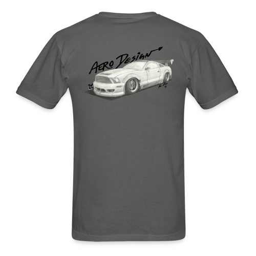 Mustang S197 T-Shirt (With Front Logo) - Men's T-Shirt