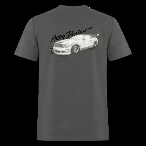 Mustang S197 T-Shirt (With Front Logo) - Men's T-Shirt