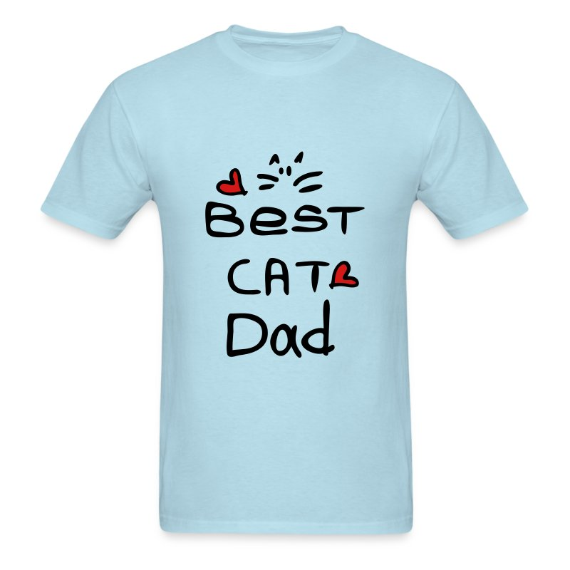 Best cat dad Men's T-Shirt - Men's T-Shirt