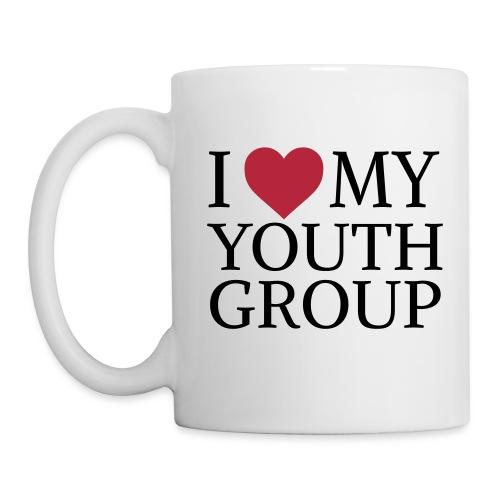 I Heart My Youth Group Mug - Coffee/Tea Mug