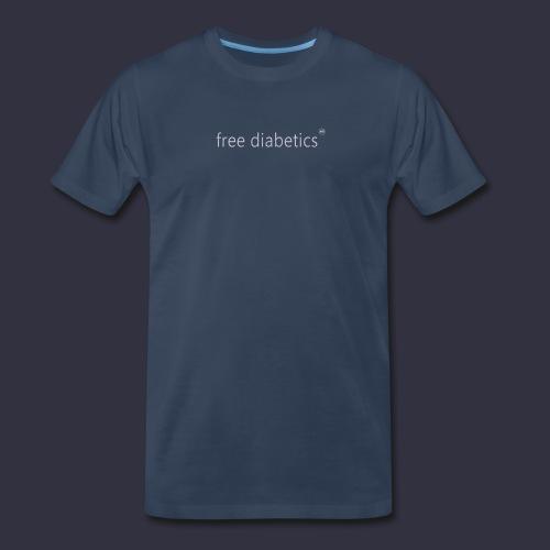 free diabetics Men's T-Shirt - Men's Premium T-Shirt