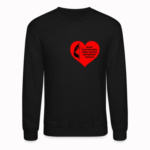 Cross Your Heart-unisex sweater - Crewneck Sweatshirt