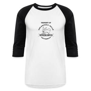 MFU Werebunnies Baseball - Men's - Baseball T-Shirt