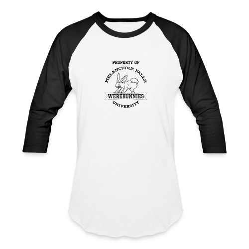 MFU Werebunnies Baseball - Men's - Baseball T-Shirt